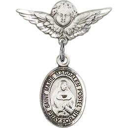 Marie Magdalen Postel<br>Baby Badge - 9294/0735