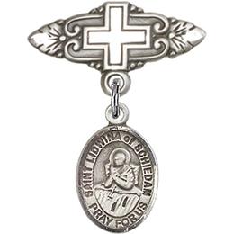 St Lidwina of Schiedam<br>Baby Badge - 9297/0731
