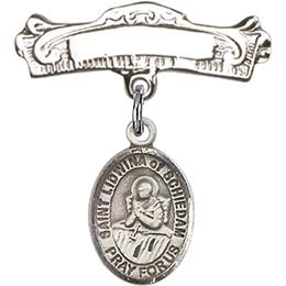 St Lidwina of Schiedam<br>Baby Badge - 9297/0732