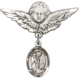 St Fiacre<br>Baby Badge - 9298/0733