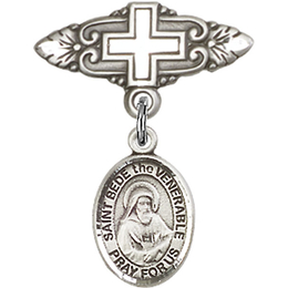 St Bede the Venerable<br>Baby Badge - 9302/0731