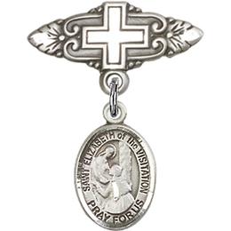 St Elizabeth of the Visitation<br>Baby Badge - 9311/0731