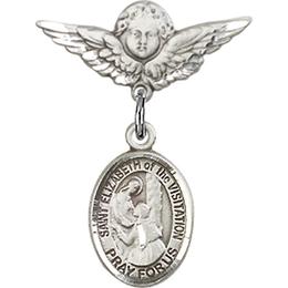 St Elizabeth of the Visitation<br>Baby Badge - 9311/0735