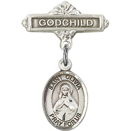 St Olivia<br>Baby Badge - 9312/0736