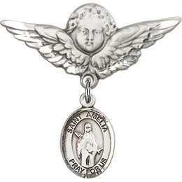 St Amelia<br>Baby Badge - 9313/0733