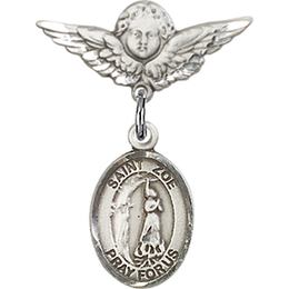 St Zoe of Rome<br>Baby Badge - 9314/0735