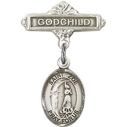 St Zoe of Rome<br>Baby Badge - 9314/0736