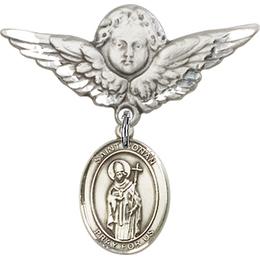 St Ronan<br>Baby Badge - 9315/0733