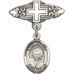 St Gianna Beretta Molla<br>Baby Badge - 9322/0731