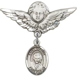St Gianna Beretta Molla<br>Baby Badge - 9322/0733