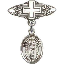 St Matthias the Apostle<br>Baby Badge - 9331/0731