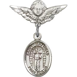 St Matthias the Apostle<br>Baby Badge - 9331/0735