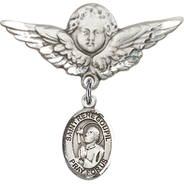 St Rene Goupil<br>Baby Badge - 9334/0733