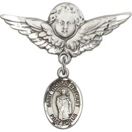 St Thomas A Becket<br>Baby Badge - 9344/0733