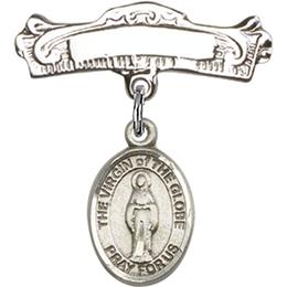 Virgin of the Globe<br>Baby Badge - 9345/0732