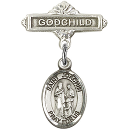 St Joachim<br>Baby Badge - 9348/0736