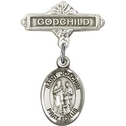 St Joachim<br>Baby Badge - 9348/0736