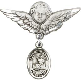 St John Licci<br>Baby Badge - 9358/0733