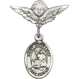 St John Licci<br>Baby Badge - 9358/0735