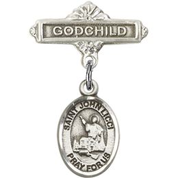 St John Licci<br>Baby Badge - 9358/0736