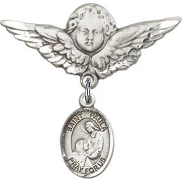St Paula<br>Baby Badge - 9359/0733