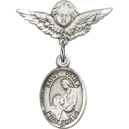 St Paula<br>Baby Badge - 9359/0735