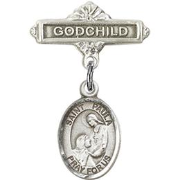 St Paula<br>Baby Badge - 9359/0736
