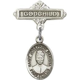 St Josephine Bakhita<br>Baby Badge - 9360/0736