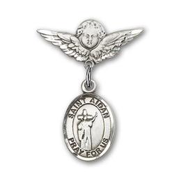 St Aidan of Lindesfarne<br>Baby Badge - 9381/0735