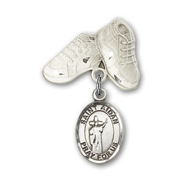 St Aidan of Lindesfarne<br>Baby Badge - 9381/5923