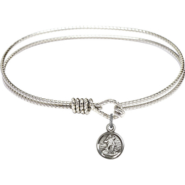 2340 - Guardian Angel Bangle<br>Available in 8 Styles
