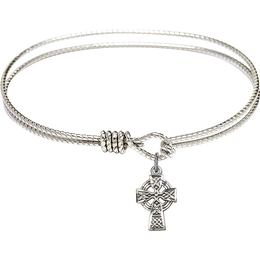 4133 - Celtic Cross Bangle<br>Available in 8 Styles