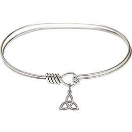 5100 - Trinity Irish Knot Bangle<br>Available in 8 Styles