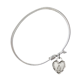 3401 - Miraculous Heart Bangle<br>Available in 8 Styles