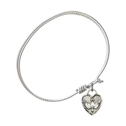 3405 - Confirmation Heart Bangle<br>Available in 8 Styles