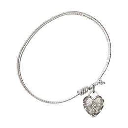 3408 - Our Lady of Guadalupe Heart Bangle<br>Available in 8 Styles