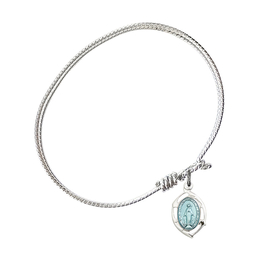 4258M - Miraculous Leaf Bangle<br>Available in 8 Styles