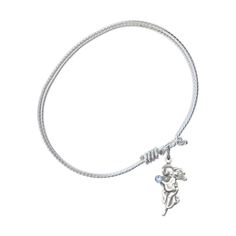 4260-STN - Guardian Angel Bangle<br>Available in 8 Styles