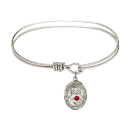 8098-STN - Scapular Bangle<br>Available in 8 Styles