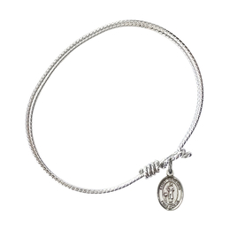 9038 - Saint Genesius of Rome Bangle<br>Available in 8 Styles