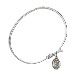 9068 - Saint Luke the Apostle Bangle<br>Available in 8 Styles
