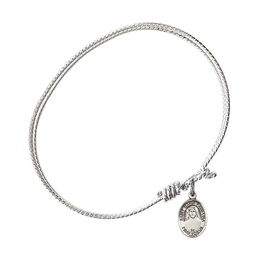 9069 - Saint Maria Faustina Bangle<br>Available in 8 Styles