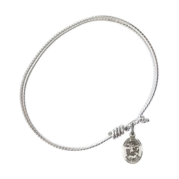 9076 - Saint Michael the Archangel Bangle<br>Available in 8 Styles