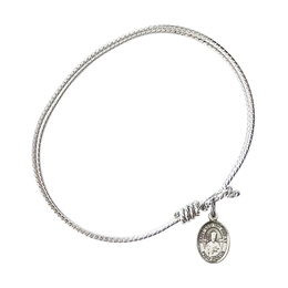 9120 - Saint Leo the Great Bangle<br>Available in 8 Styles