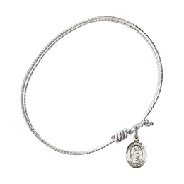 9128 - Saint Agnes of Rome Bangle<br>Available in 8 Styles
