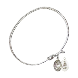 9243 - Our Lady of Mount Carmel Bangle<br>Available in 8 Styles