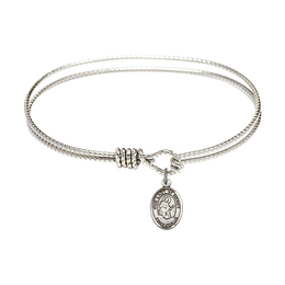 9289 - Our Lady of Mercy Bangle<br>Available in 8 Styles
