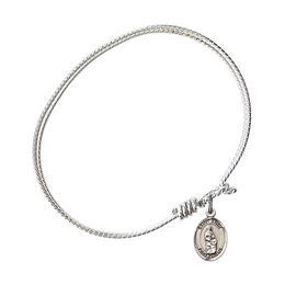 9374 - Saint Anne Bangle<br>Available in 8 Styles