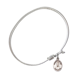 9389 - Blessed Miguel Pro Bangle<br>Available in 8 Styles