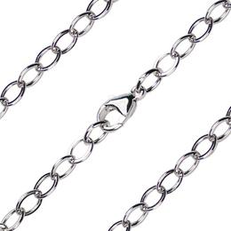 Open Cable Flat Bracelet<br>Precious Medal<br>C36 - 4.70mm